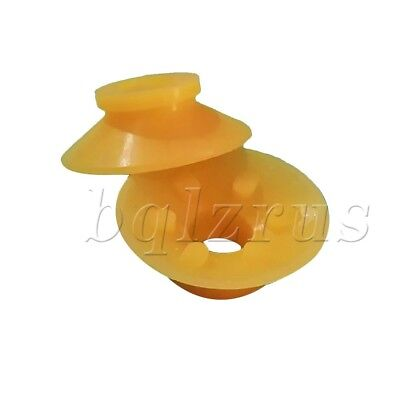 10pcs Silicone Sucker disc nozzle For Printing machine Parts Yellow/Black