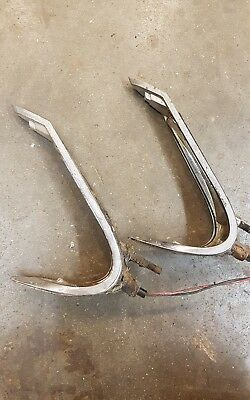 1960 cadillac taillight mount trim flat top 62 series coupe deville light lamp