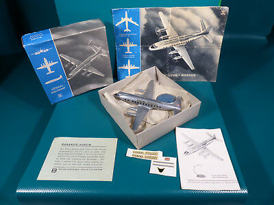 Wiking Flugzeug 1:200 Vickers Viscount Lagerfund in Box + Faltkatalog Wiking