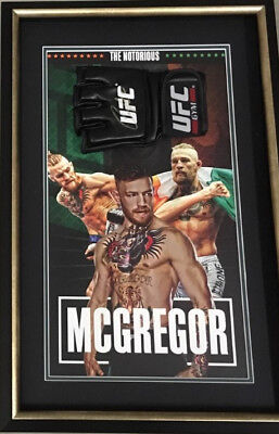 Conor Mcgregor Signed & Framed Ufc Glove 'notorious'-Coa