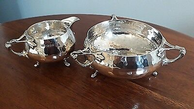 antique silver jug & bowl by Charles Edwards