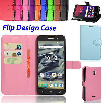 best sneakers 70084 d1faf SLIM WALLET STAND For Alcatel Pixi 4 4