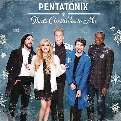 That's Christmas To Me by Pentatonix Vocal Pop 0888430969025 Audio CD NEW