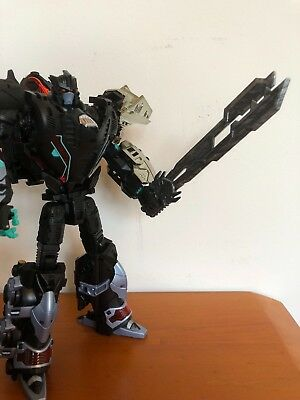 Transformers Prime Beast Hunter Voyager Class Optimus Prime' Sword custom