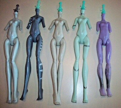 Monster High Doll Replacement Parts ~ Lot B - Assorted Bodies x 5
