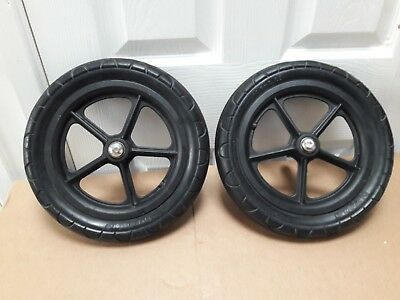Pair of Bugaboo cameleon 1 and 2 / frog rear back foam wheels&*&