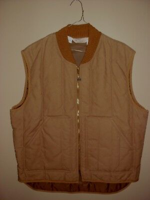 Vintage Walls Blizzard Pruf Insulated Vest Outerwear XL