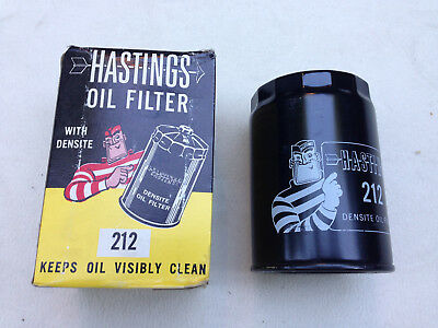 NOS 1959-67 Hastings Oil Filter #212