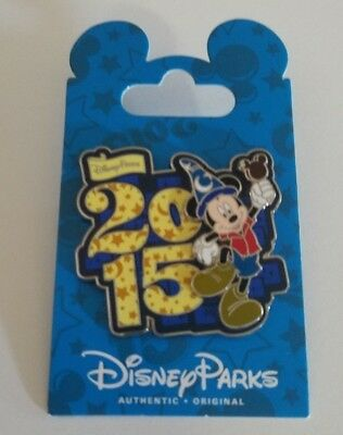 NEW Disney Trading Pin 2015 Mickey With Sorcerer Hat & Ice Cream Bar