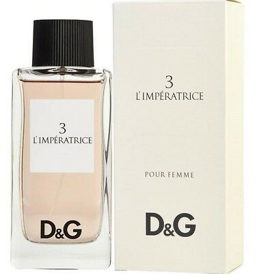 Dolce & Gabbana 3 L'imperatrice 100Ml Edt Spray - For Her - New, Boxed & Sealed!