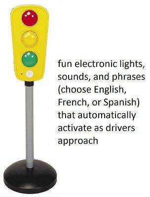 """27"""" tall Talking Toy Traffic Light With Light Sounds and phrases Xmas Gift Kids"""