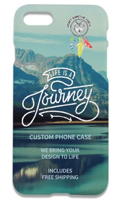 1 Custom Full Color Iphone Case + Free Design Free Shipping