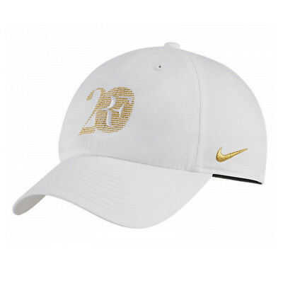 Nike Roger Federer Limited Edition 20th Celebration RF Tennis Cap Hat White Gold