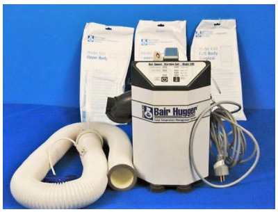 Bair Hugger 505 Warming Unit with new hose, filter. (NEW) with 10 new blankets