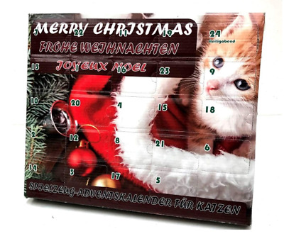 Advent calendar for cats Free Shipping UK
