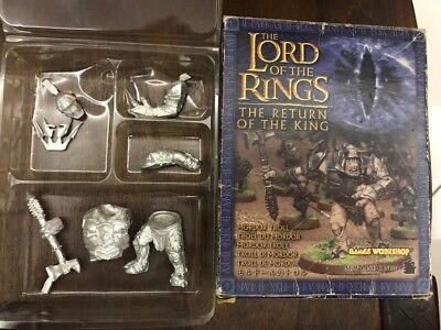 Games Workshop 06-27 Mordor Troll  Lord Of The Rings The Return Of The King