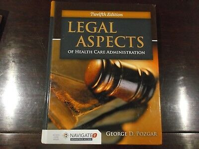 Legal Aspects of Health care Administration by George D Pozgar