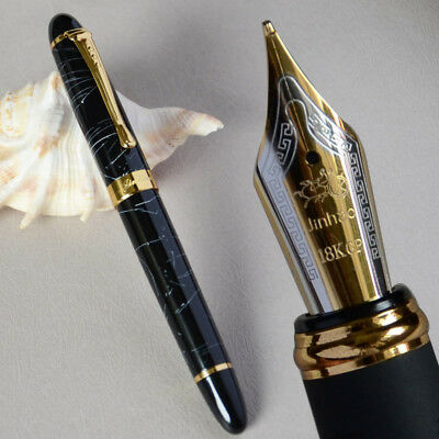FLEXY NIB CALLIGRAPHY FOUNTAIN PEN 18 KGP 0.7mm GOOD QUALITY LUXURY 21 COLORS
