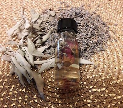 House Blessing Oil Remove Negative Energy with Healing Crystals SALE 20% OFF