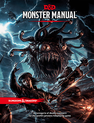 Dungeons & Dragons 5th Edition Monster Manual - New - Free Shipping