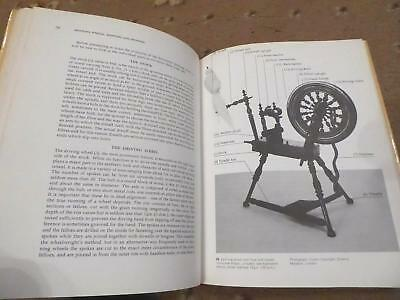 Spinning Wheels, Use History Types Excellent Complete Users Reference Guide Bk