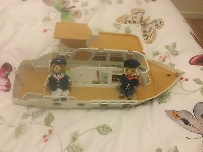 sylvanian families  boat with figures
