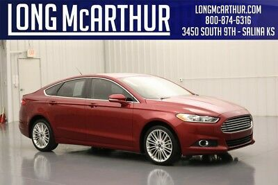 2016 Ford Fusion SE FWD 1.5 ECOBOOST 4 CYLINDER 6 SPEED AUTOMATIC SEDAN TECHNOLOGY PACKAGE MY FORD TOUCH BLUETOOTH ENTERTAINMENT AND COMMUNICATIONS