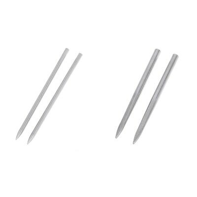 4pcs 3inch Stainless Steel Paracord Needle Stitching Lacing Fid Camping Tool
