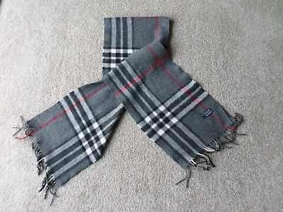 Burberry Scarf 100% Lambswool
