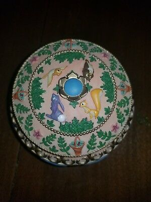 RARE Disney's Sleeping Beauty Music Box Aurora MINT condition BLUE dress version