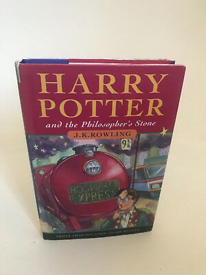 Harry Potter and The Philosophers Stone 1st edition UK 24th printing JK Rowling