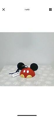 Disney Parks Mickey Mouse Pants Ear Hat Christmas Ornament NEW with tags