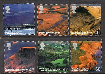 2004 British Jouney - Wales Fine Used Set Of 6 SG2466-2471 Cat £4.50 See Scan