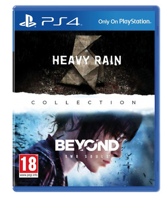 Heavy Rain & Beyond Two Souls ( Playstation 4, PS4)