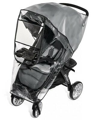 Premium Stroller Cover Weather Shield, Easy In/Out Zipper, Universal Size,...
