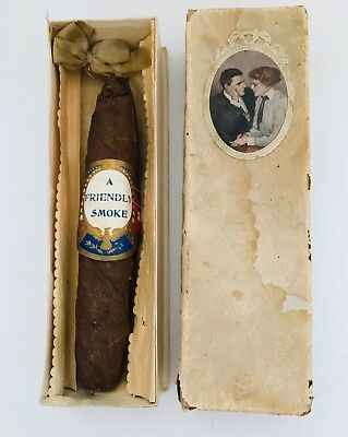 Vintage Advertising Cigar, in Original Box, One of a Kind