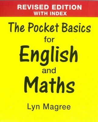 NEW The Pocket Basics for English and Maths By Lyn Magree Paperback