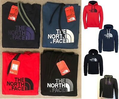 The North Face Sudadera Polar con Capucha Hombre Clásico Top Dibujó Peak Jersey