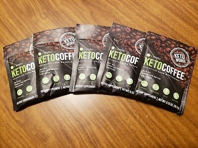 It Works! Keto Coffee 5 Single Serve Packets