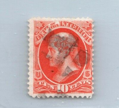 GOLDPATH US stamp SC# O100 F-USED SBH_20