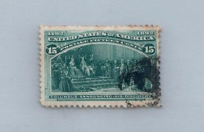 GOLDPATH US stamp SC# 238 F-VF-USED _SBH_20