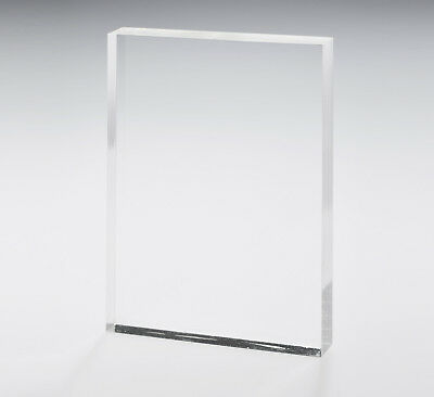 2 x Clear Acrylic Perspex® PMMA Sheets A4 297x210x3mm (2 Pack)