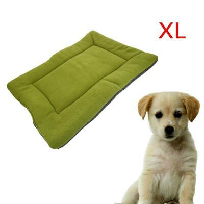 New Extra Large Dog Pet Crate Kennel Nest Warm Bed Mat Padding Pad House Green