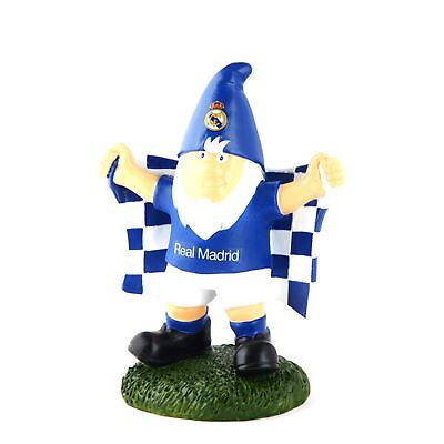 Real Madrid CF Official Champ Football Crest Garden Gnome (SG8086)