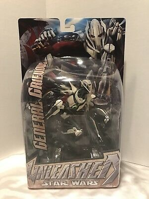 """Star Wars 8"""" General Grievous Unleashed New Factory Sealed 2005"""