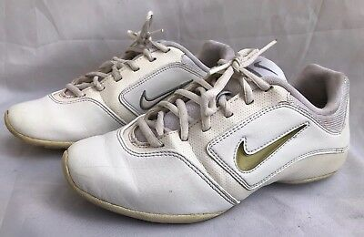 6f4a5d5356b799 Nike Womens Sideline 2 Insert Cheer Shoes 448002-100 Size US 5