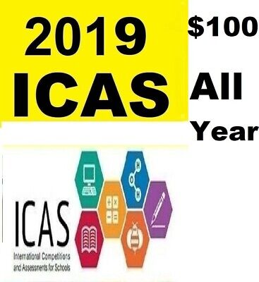 ICAS Year 2,3,4,5,6,7,8, 9 All 237 papers  $150 **
