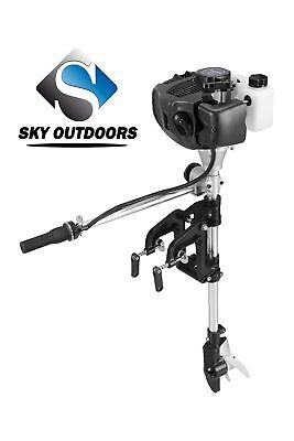 SKY 2Stroke 2.5HP Superior Engine Outboard Motor Inflatable Fishing Boat