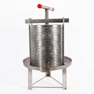Two 2 Frame Stainless Steel Bee Manual Crank Honey Extractor Honeycomb Drum