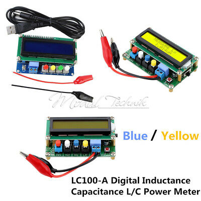 Digital LC100-A Inductance Capacitance L/C Power Meter High Precision Board